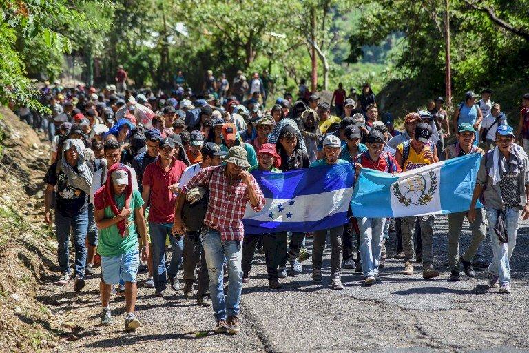 美期中選舉 中美洲移民大軍集結墨西哥市