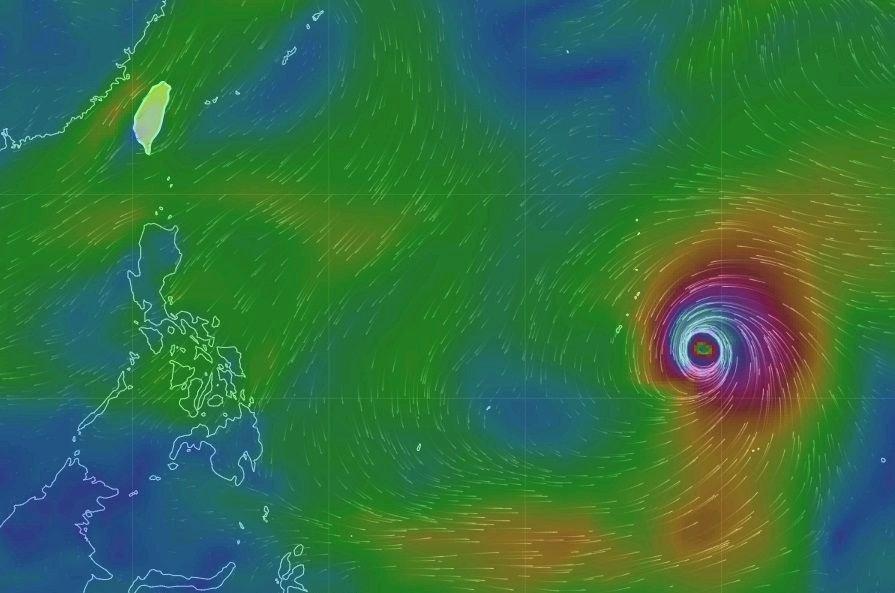 玉兔變強颱  氣象局研判對台灣影響不大