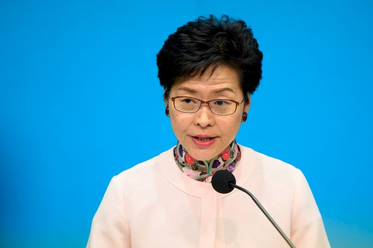 香港特首:希望與市民對話和平理性冷靜