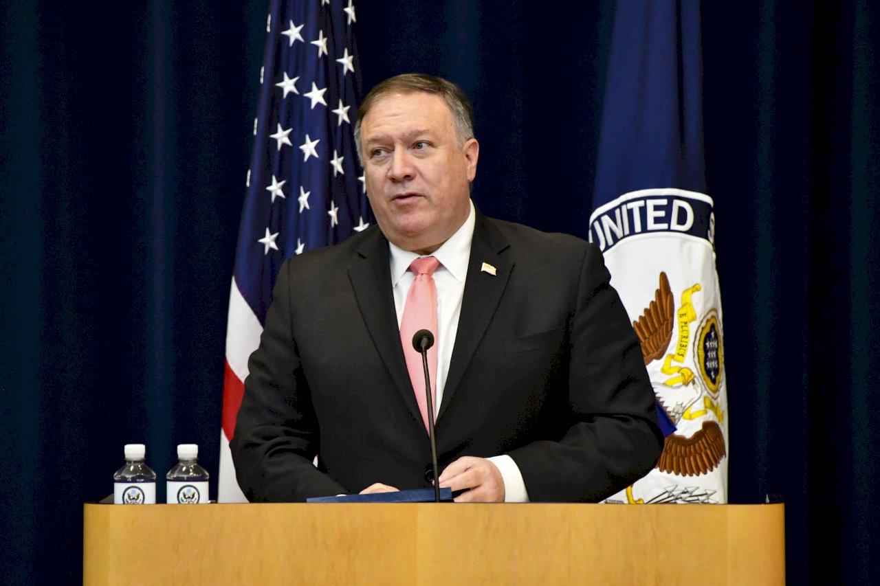 蓬佩奧:阿富汗和平談判中止 繼續施壓塔利班