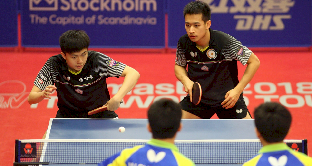 桌球年終賽 林昀儒廖振珽逆轉晉級決賽