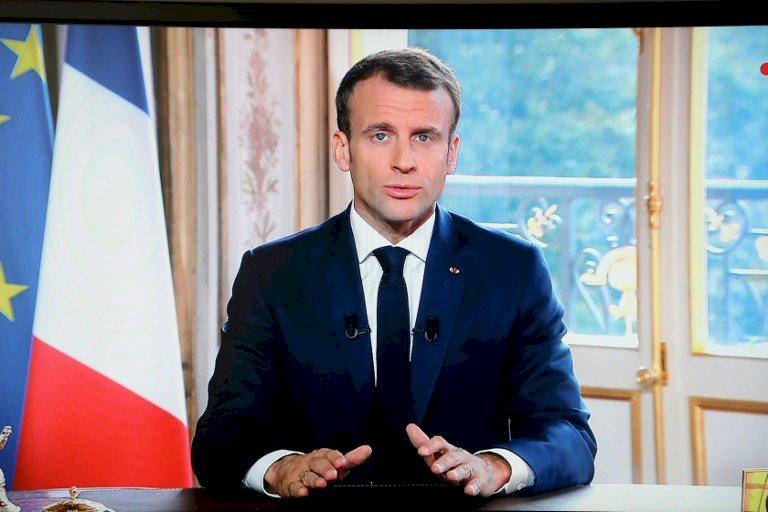 馬克宏關注國際 看顧黎巴嫩還心繫白俄羅斯