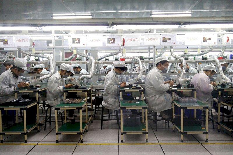 外媒:蘋果2020年採用中國供應商首度多於台灣