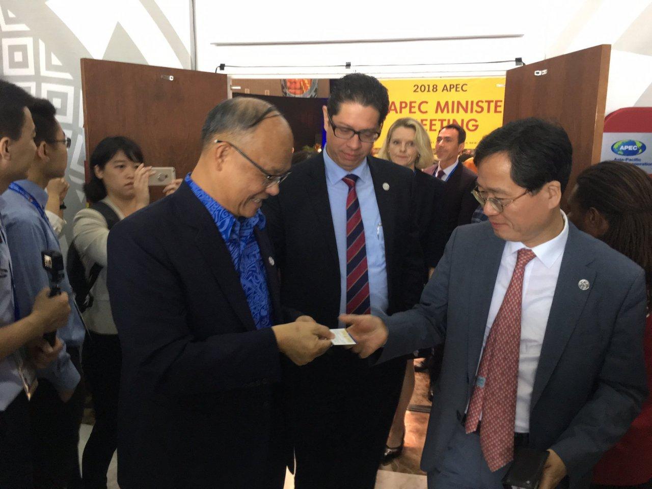 APEC部長年會 鄧振中提台入CPTPP意願
