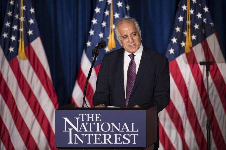 美與塔利班達協議 向阿富汗總統展示草案