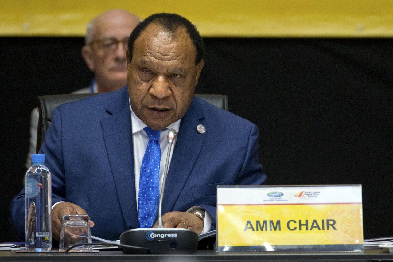 欲影響APEC公報 中官員要闖巴紐外長辦