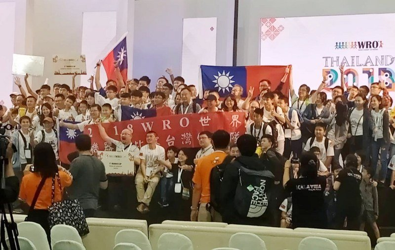 奧林匹亞機器人世界賽 台灣獲2金2銀1銅