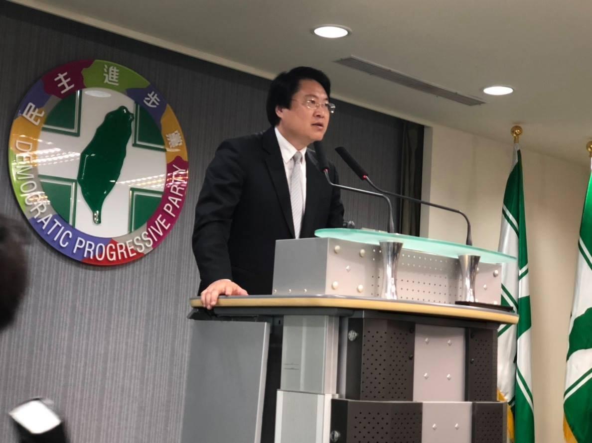 民進黨主席補選 代理主席林右昌:照制度進行