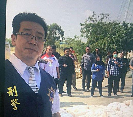 台灣第一人 李堅志獲外國駐印尼執法協會表揚
