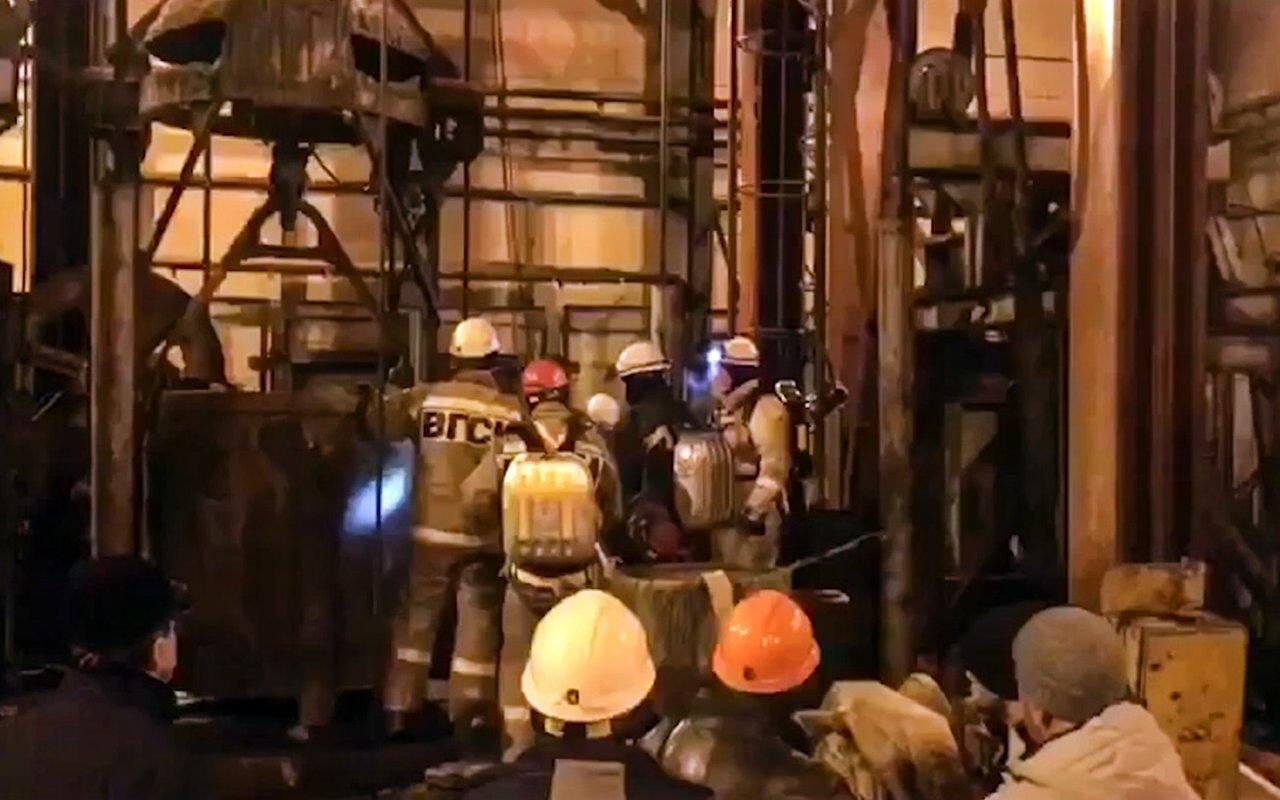 俄國礦區火災 9名工人恐喪生