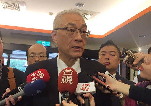 談國民黨2020總統提名 吳敦義:現在還早