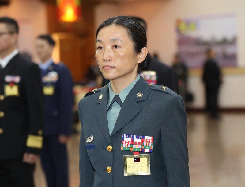 國軍人事異動 辜麗都成憲指部首名女性政戰主任