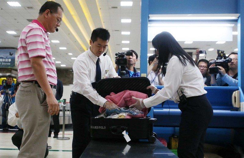 手提行李百分百稽查 高雄機場將增X光儀檢查