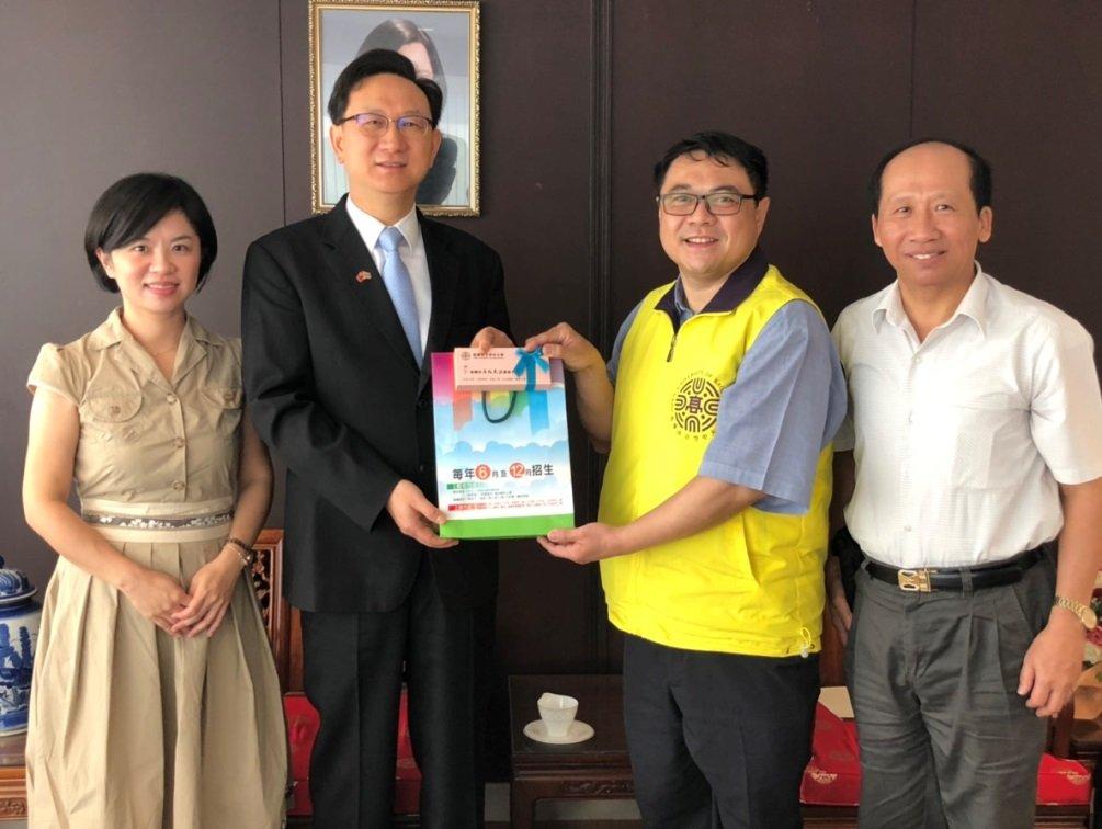 高雄空大首開華泰雙語班課程 泰人線上學華語超EASY