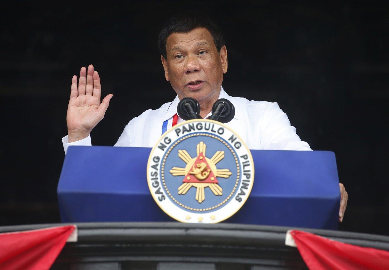 發言人:杜特蒂將取消菲國南部戒嚴令