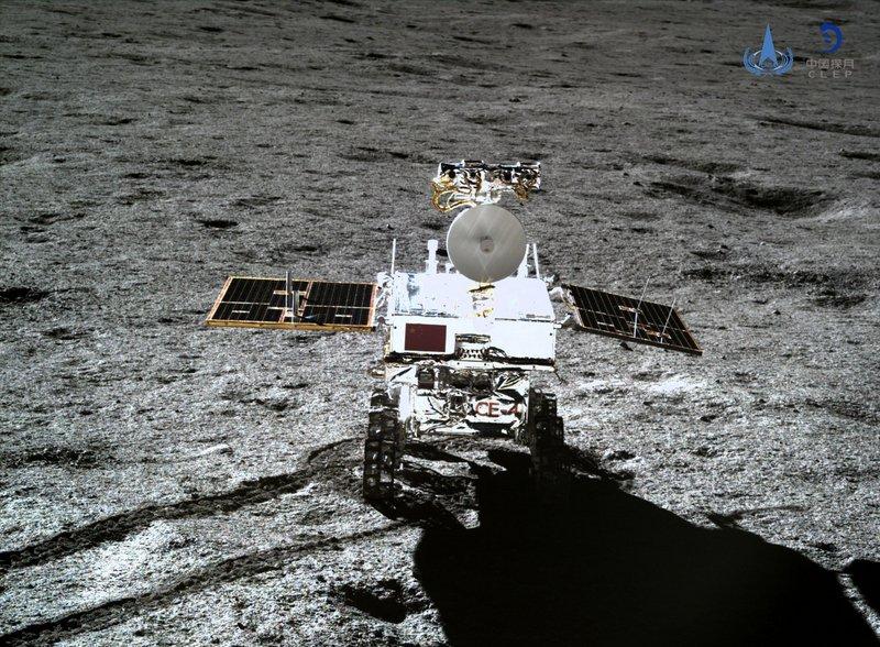 嫦娥玉兔月球背面成功互拍 進入科學探測階段