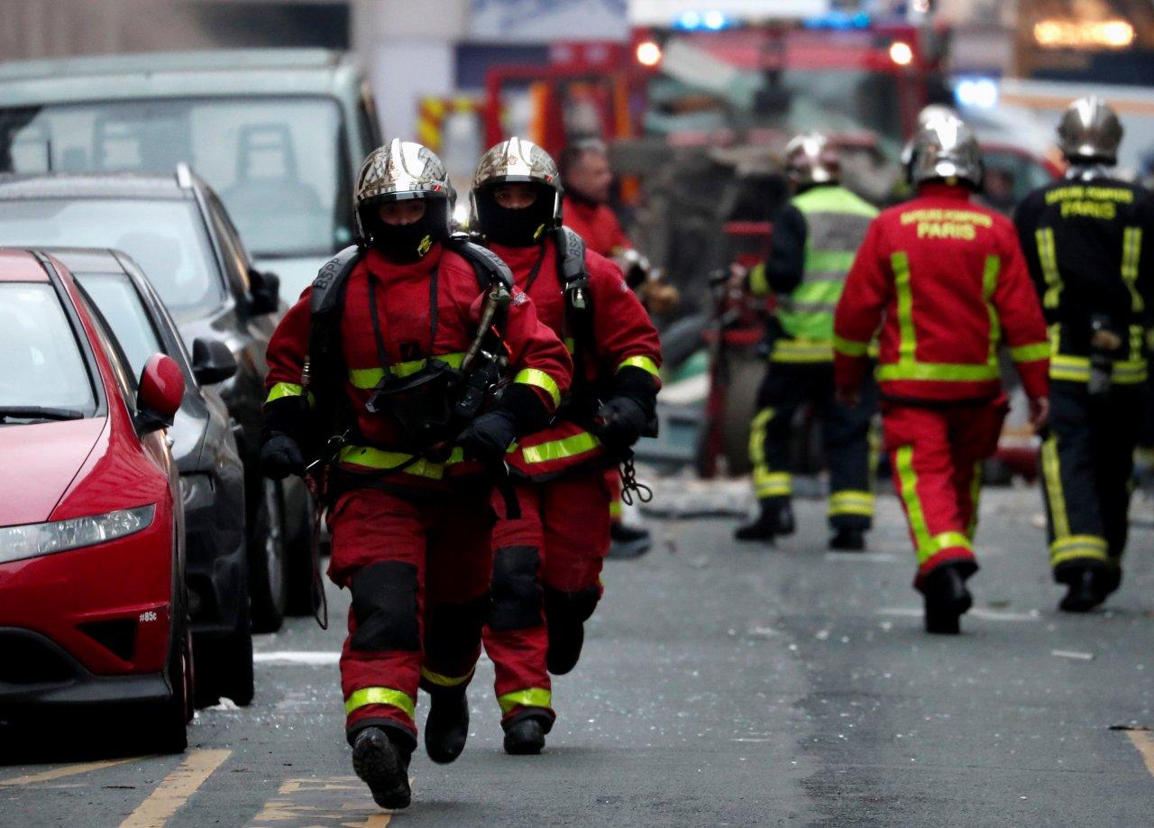 巴黎市中心強烈爆炸 消防員2死另有47傷