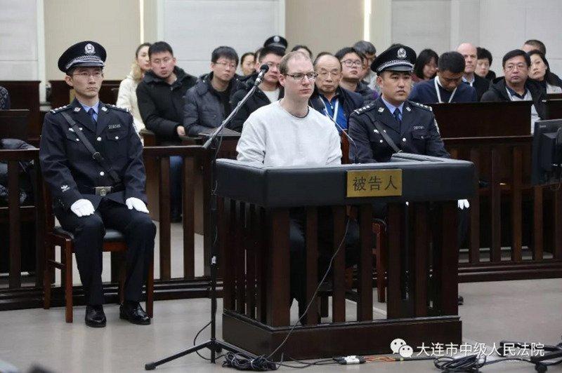 加拿大毒販謝倫伯格遭判死 中國法庭駁回上訴