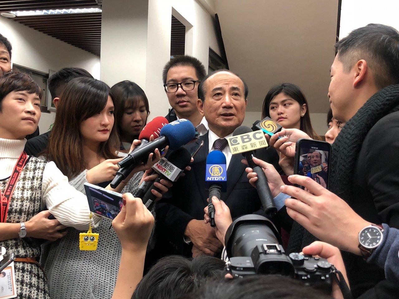 國民黨2020「王朱配」?王金平:沒這回事