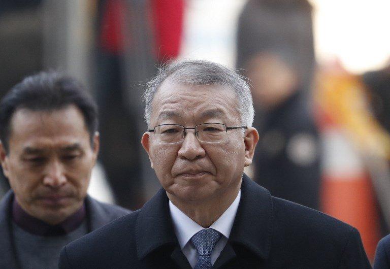 南韓憲政史上首次 前大法院長涉濫權被捕