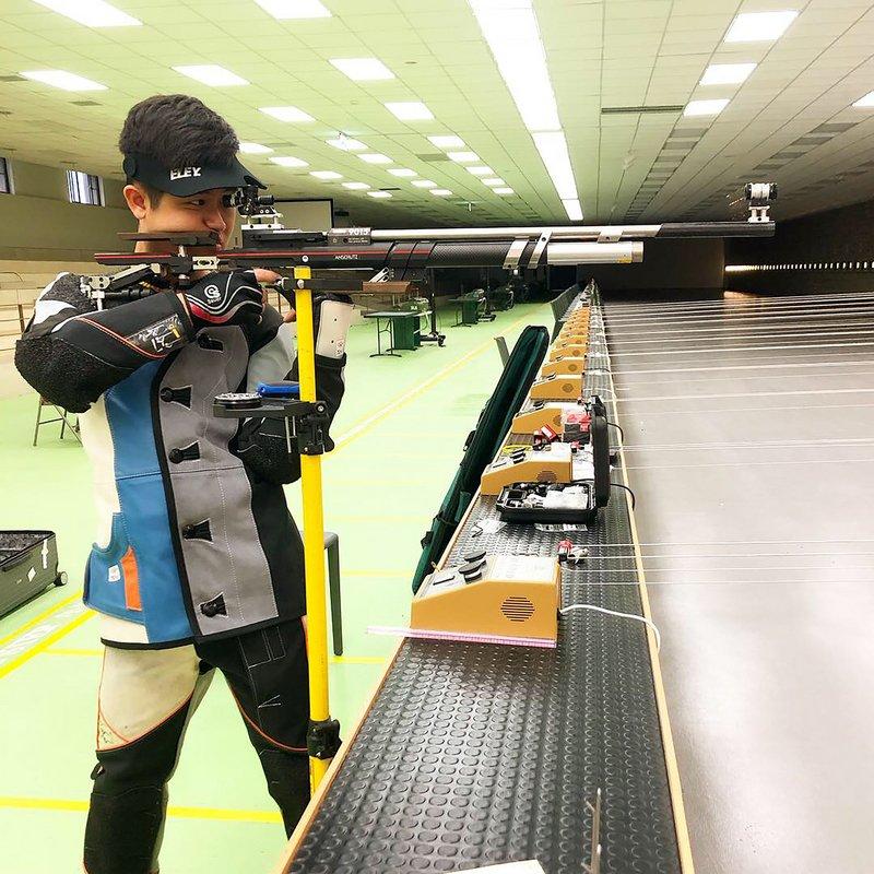 台灣男子第一人 呂紹全10公尺空氣步槍進奧運