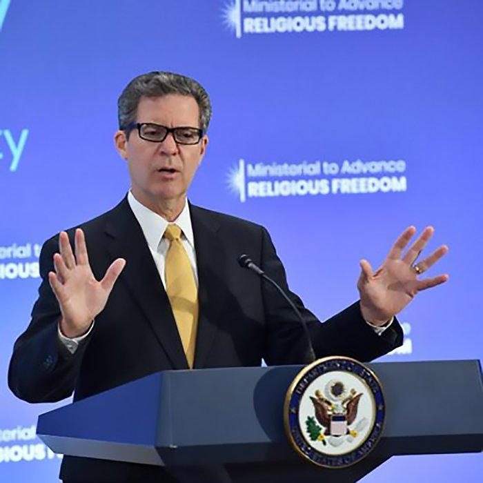 台美合辦區域對話 美宗教自由大使將來台