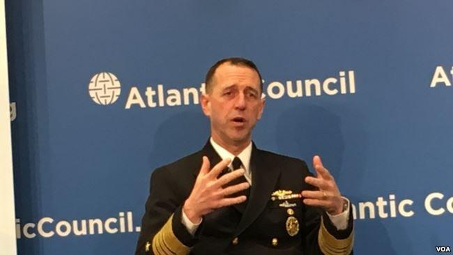 美將領:美軍艦會持續經過台海