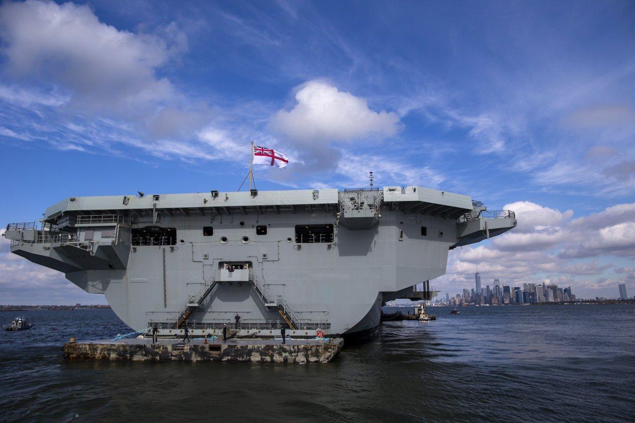 對中國加大施壓 英航艦明年派往亞洲