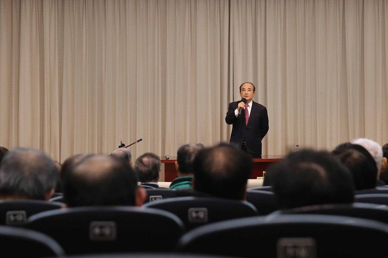 王金平:確定參加總統大選 因緣成熟正式宣布
