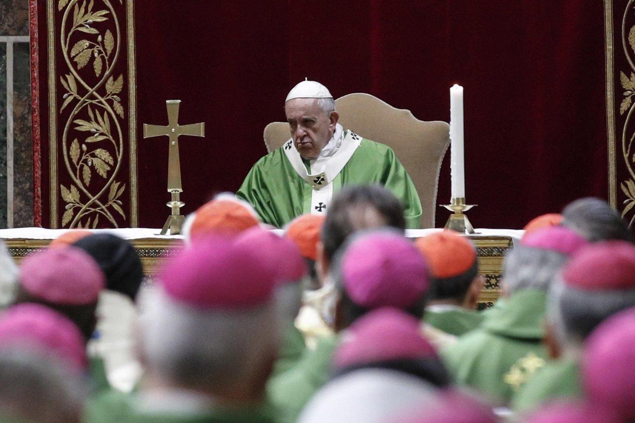教宗:性侵兒童等同以人類作祭品