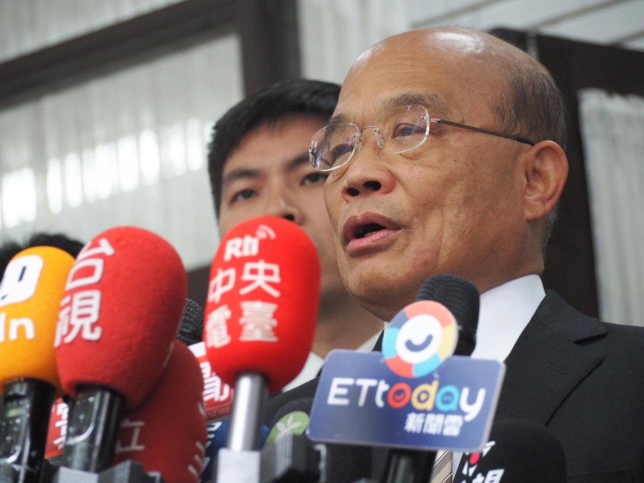 反駁挑釁中國說 蘇揆:為維護和平只好做戰爭準備