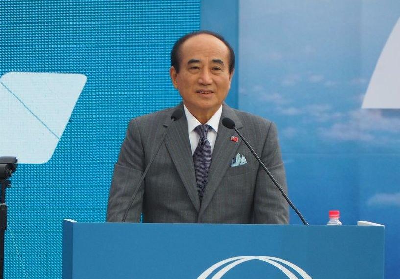 王金平宣布參選總統 指兩岸是同根生