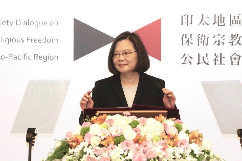 總統:與各國加強合作 打造無宗教迫害的世界