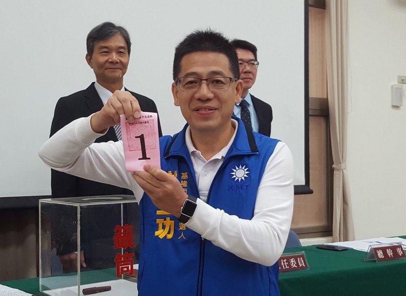 謝立功:將退出國民黨任民眾黨秘書長