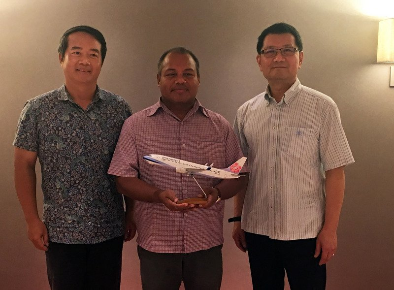 駐帛琉人員完成篩檢 大使:要證實當地未淪陷