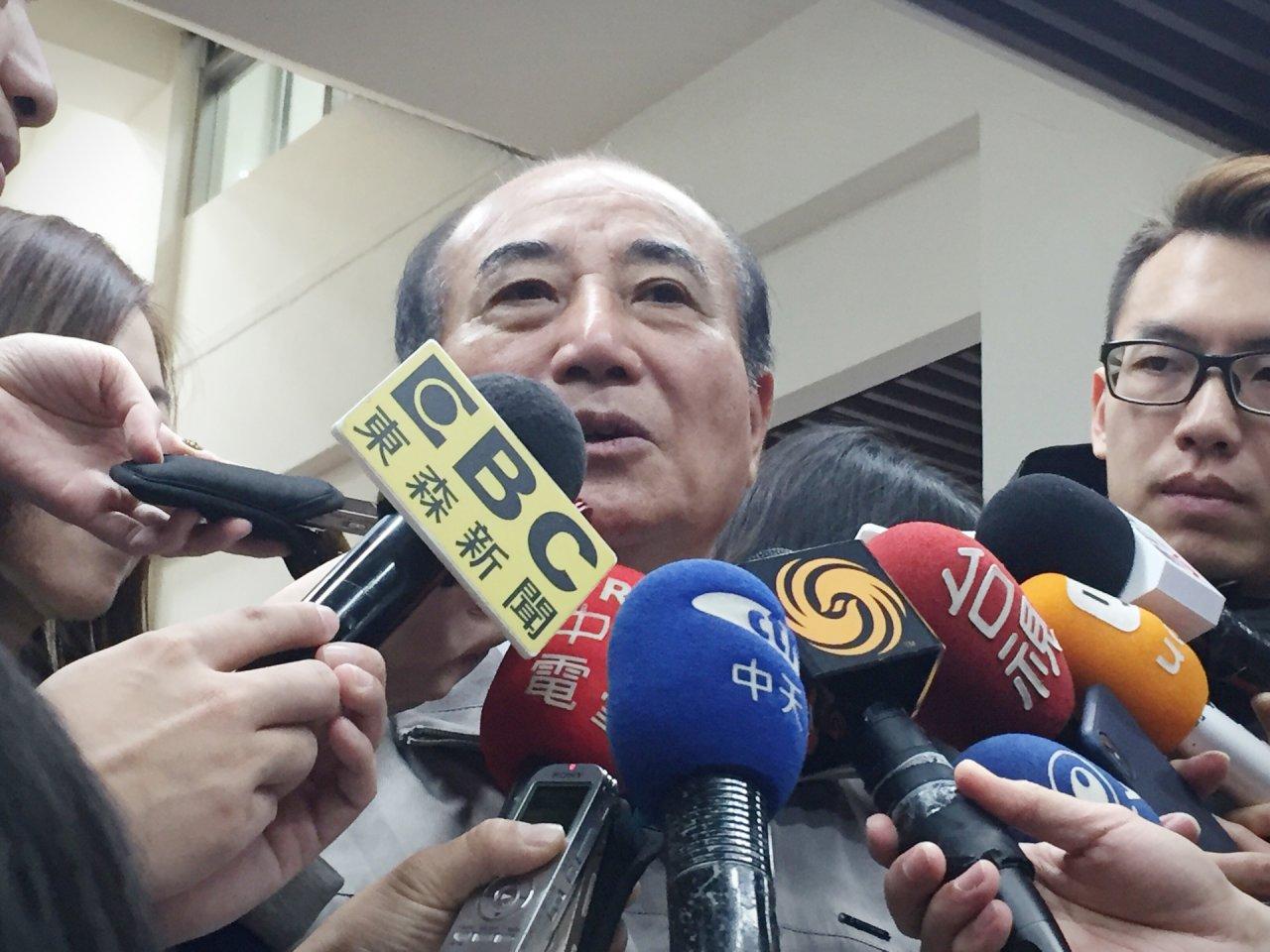 吳敦義不選 王金平:可無私建立提名機制與協調