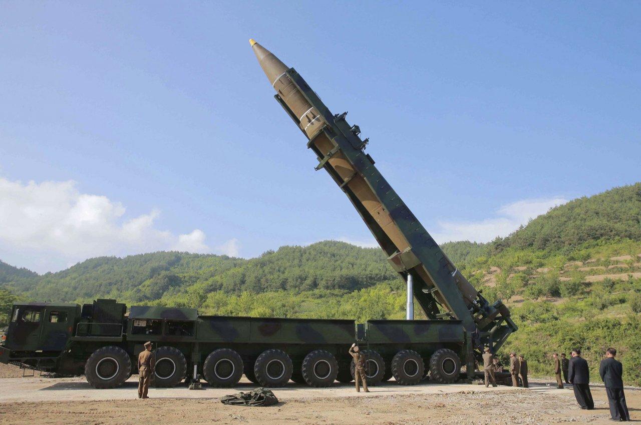 衛星照片顯示 北韓疑準備重啟飛彈發動機測試