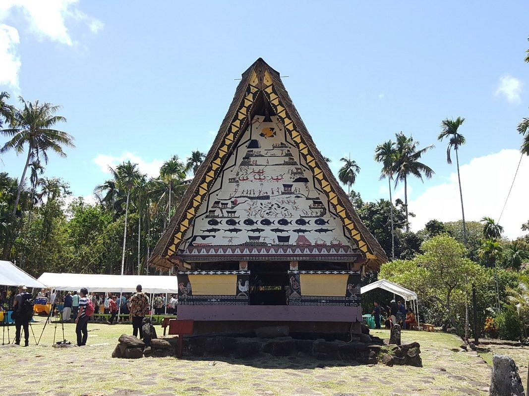 蔡總統訪帛琉男人會館 首位女性外國元首獲邀進入