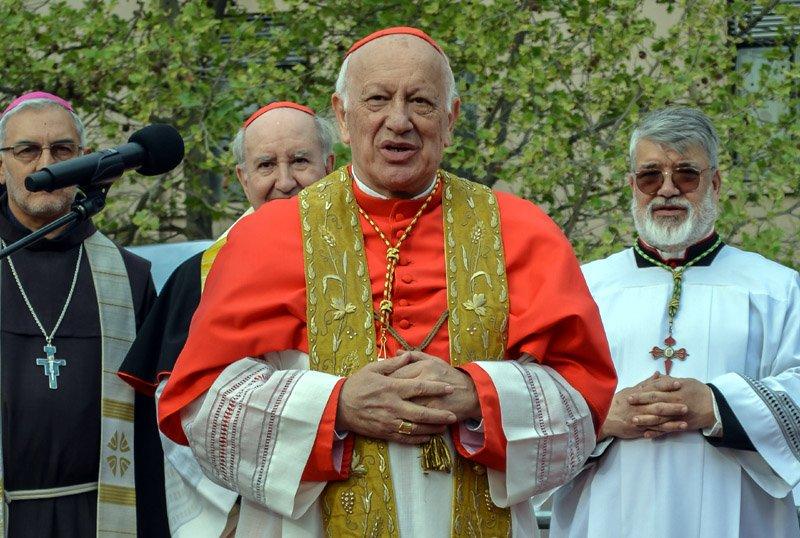 智利大主教被控包庇性侵請辭 獲教宗接受