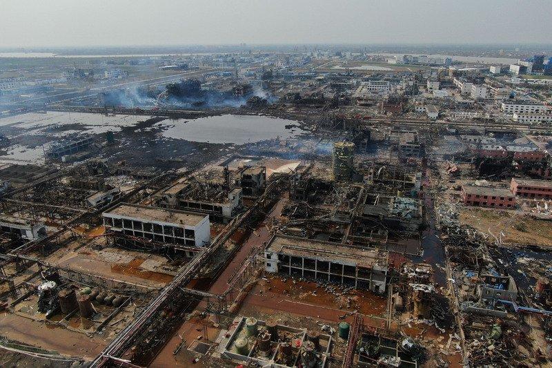 環保志工調查江蘇化工廠爆炸 被公安帶走