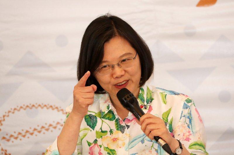 陳菊提告3「名嘴」 總統:尊重菊姐的決定