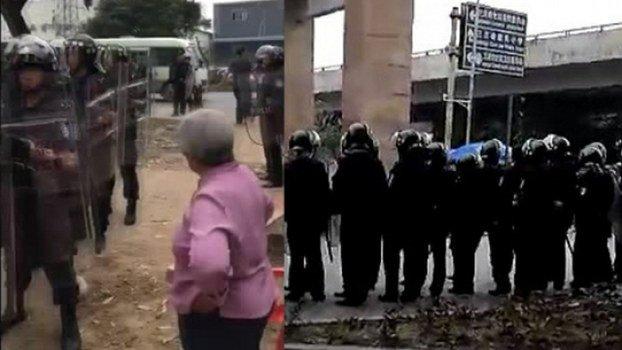 廣東順德村民保耕地 釀警民衝突