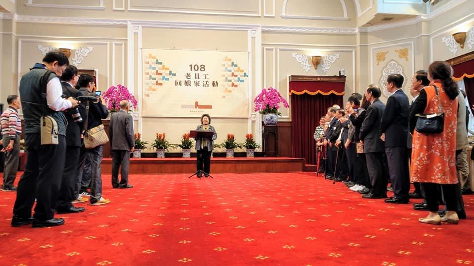 慶祝總統府建築百年 退休員工回娘家敘舊憶當年