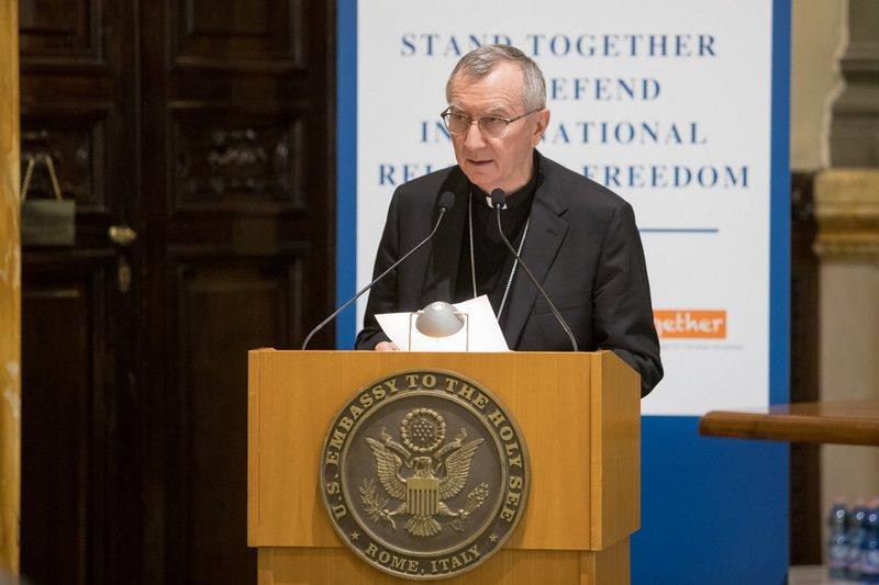 教廷國務卿:梵中協議為促進中國宗教自由