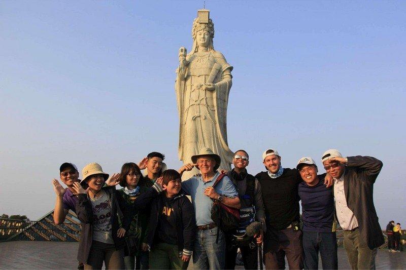 台灣媽祖美國顯威 媽祖遶境旅遊節目獲艾美獎提名