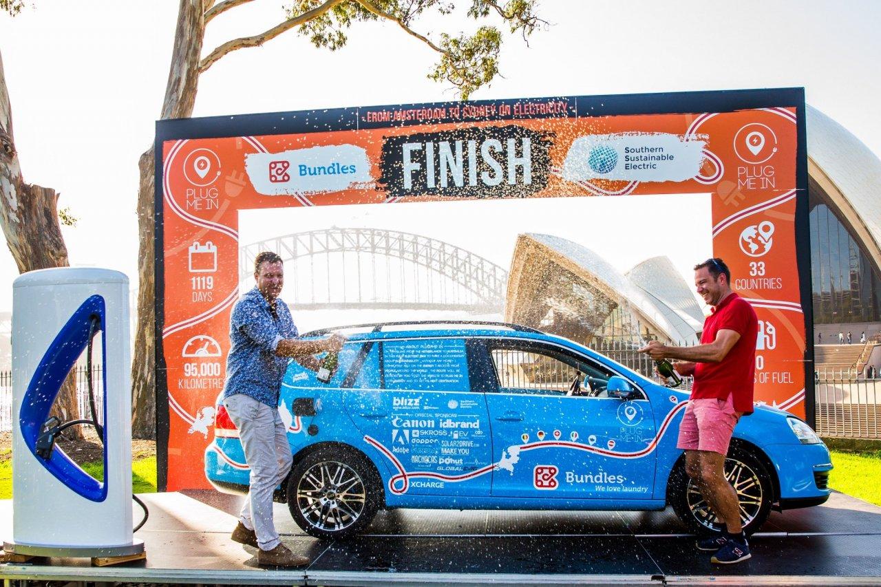 世界最長電動車之旅 荷蘭人闖33國澳洲劃下句點
