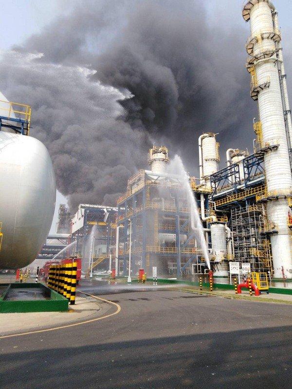 六輕台化三廠氣爆 毒化物空氣測值未異常