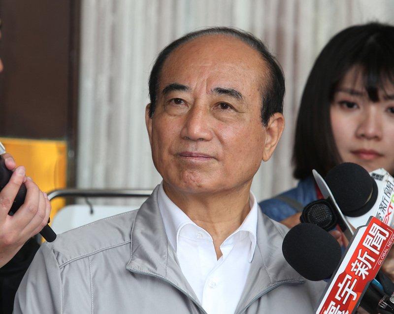 王金平:吳敦義若要選 我們就不宜見面