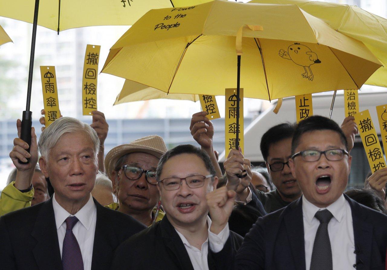 香港「占中」發起人陳健民 來台任政大客座教授