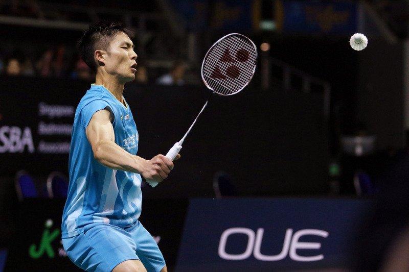 新加坡羽球公開賽吞敗 周天成無緣爭冠